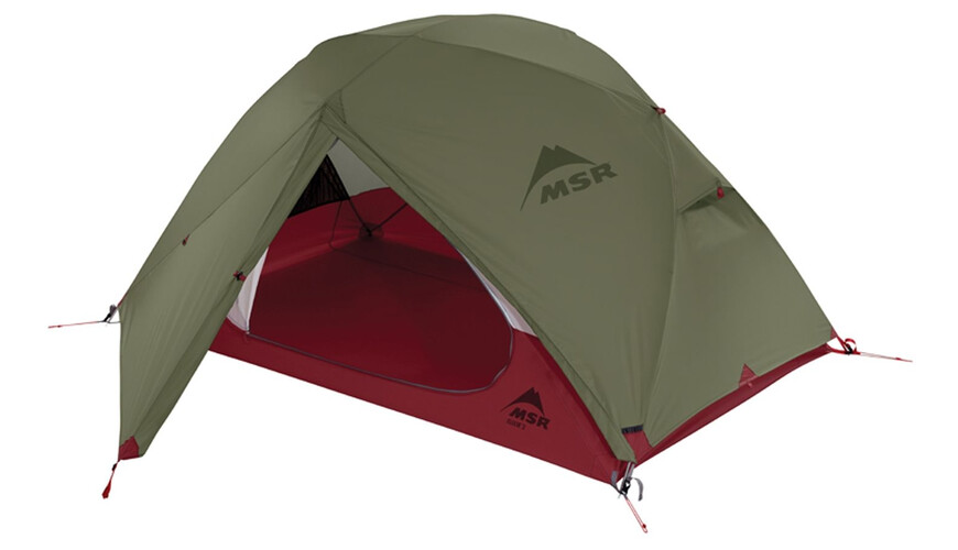MSR Elixir 2 Tent Footprint included Green